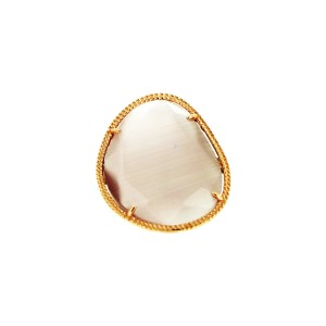 Jazz  Pink Quartz  Ring 293