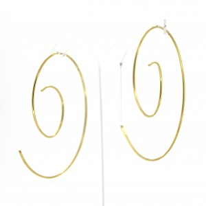 Jazz Hoop Earrings