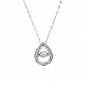 Dancing Diamond Necklace 277