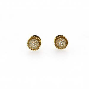 Kia  Diamond Ball Earings 244