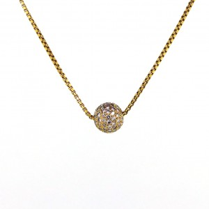 Kia classic ball Necklace 280